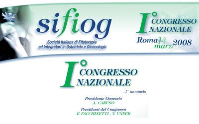 1° Congresso Nazionale SIFIOG