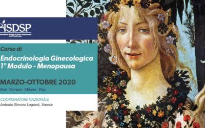 Corso di Endocrinologia Ginecologica – 1° Modulo menopausa